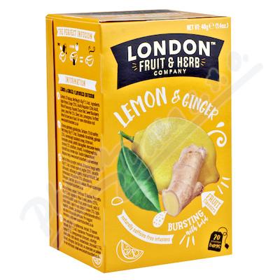 Čaj LFH Citrón se zázvorem 20x2g
