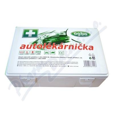 Autolékárnička plastová bílá 341/2014 AGBA