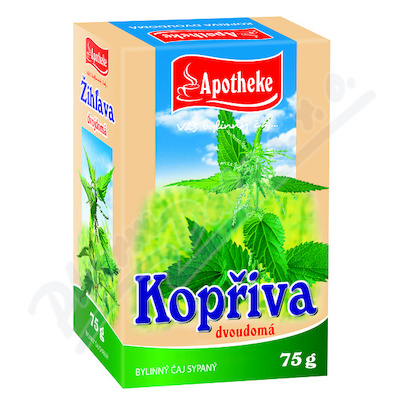 Apotheke Kopřiva dvoudomá list sypaný čaj 75g