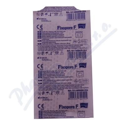 Fixopore F sterilní náplast 10x20cm 1ks
