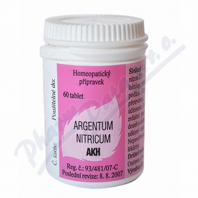 Argentum nitricum AKH por.tbl.nob.60
