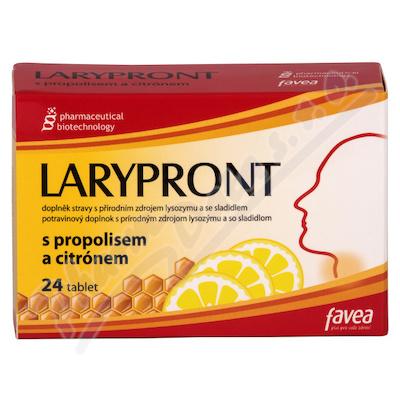 Favea Larypront s propolisem a citrónem tbl.24