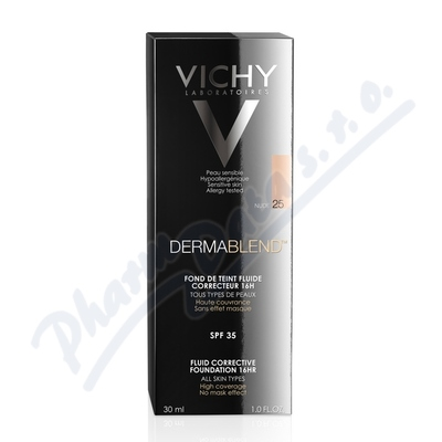VICHY DERMABLEND Korekční make-up č.25 30ml