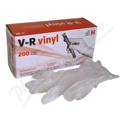 ae33e6a97 Rukavice vinylové V-R vel.M bezprašné 200ks