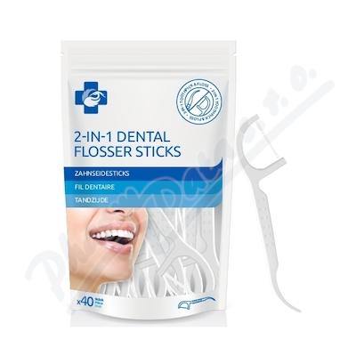 BENU Párátka s dentální nití 40ks
