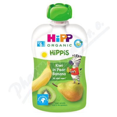 HiPP BIO 100% ovoce Hruška-Banán-Kiwi 100g
