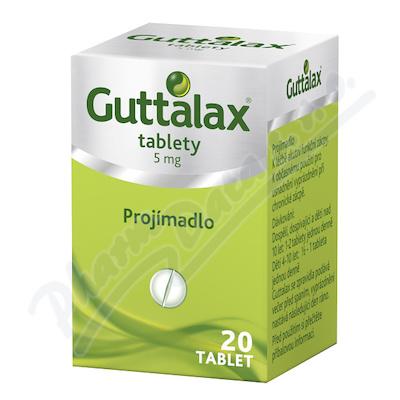 Guttalax 5mg tbl.nob.20