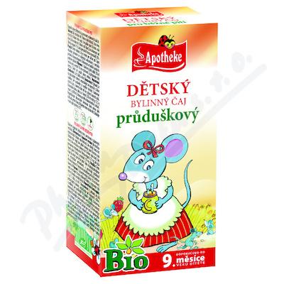 Apotheke Dětský čaj BIO průduškový 20x1.5g