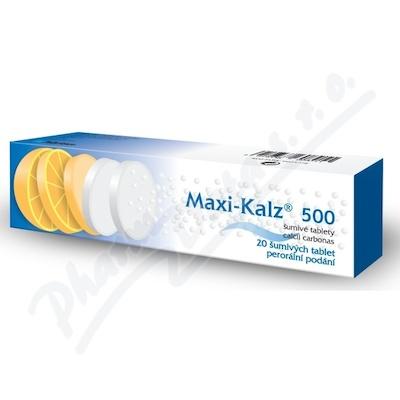 Maxi-kalz 500mg tbl.eff.20