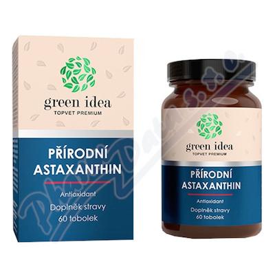 TOPVET Astaxanthin přírodní antioxidant tob.60