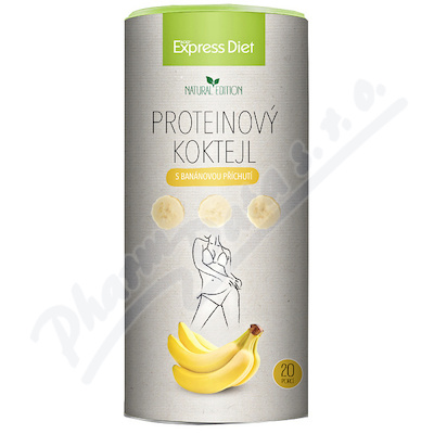 Express Diet Protein koktejl banánový 700g