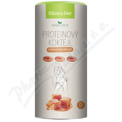 Express Diet Protein koktejl karamelový 700g