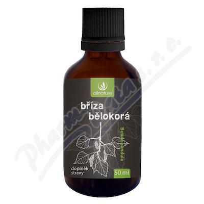 Allnature Bříza bělokorá bylinné kapky 50 ml
