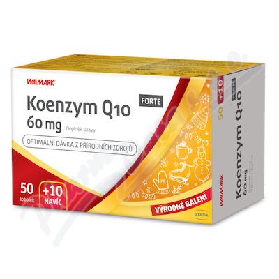Walmark Koenzym Q10 FORTE 60mg tob.50+10 Promo2020