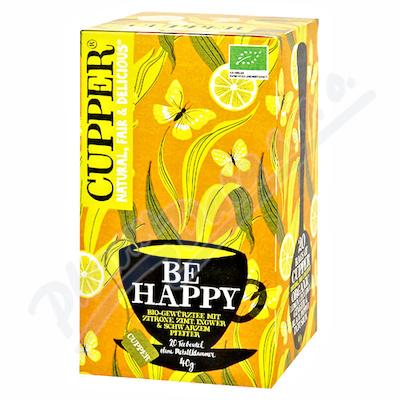 Cupper BIO čaj Be Happy 20 n.s.