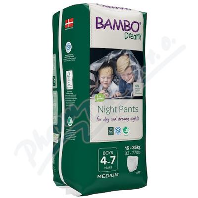 Bambo Dreamy Night Pants 4-7let Boy 15-35kg 10ks