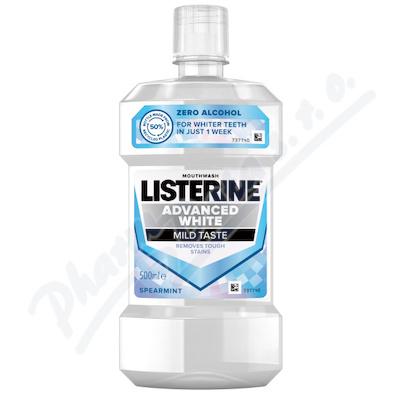 LISTERINE Advance White Mild Taste 500 ml