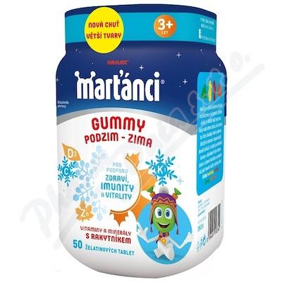 Walmark Marťánci Gummy PODZIM-ZIMA tbl.50