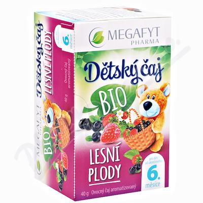 Megafyt Dětský čaj lesní plody BIO 20x2g