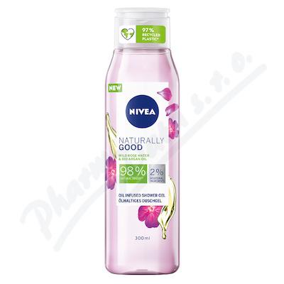 NIVEA sprch.gel Naturally Wild Rosé 300ml 84596