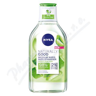 NIVEA micelární voda Naturally Good 400ml 87148