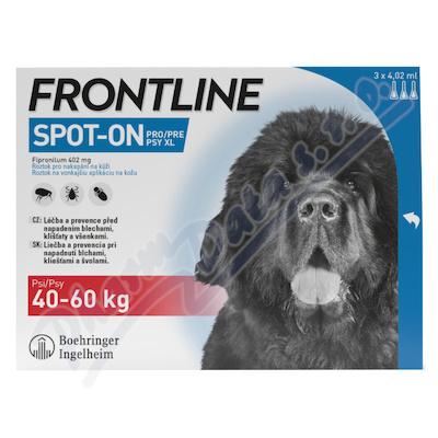 Frontline Spot On Dog 40-60kg pipeta 3x4.02ml