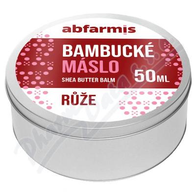 Abfarmis Bambucké máslo růže 50ml