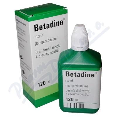 Betadine liq.1x120ml (H) zelený