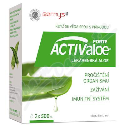 Barnys ACTIValoe lékárenská aloe 2x500ml