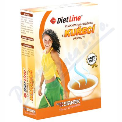 DietLine Vlákninová polévka s kuřecí příchutí 3ks