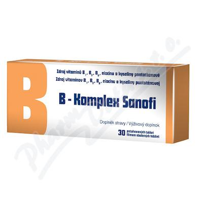 B-Komplex Sanofi por.tbl.flm.30