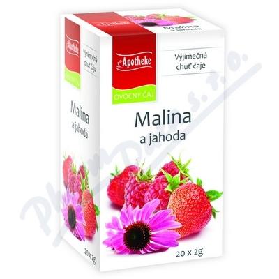 Apotheke Malina+jahoda s echinaceou čaj 20x2g