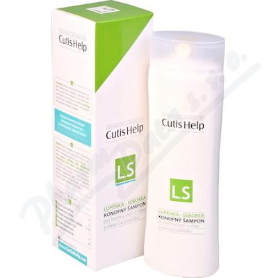 CutisHelp LUPÉNKA-SEBOREA konopný šampon 200ml