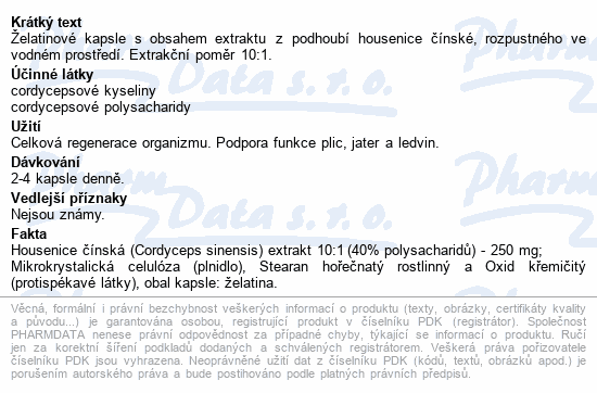 Cordyceps extra PM cps.120