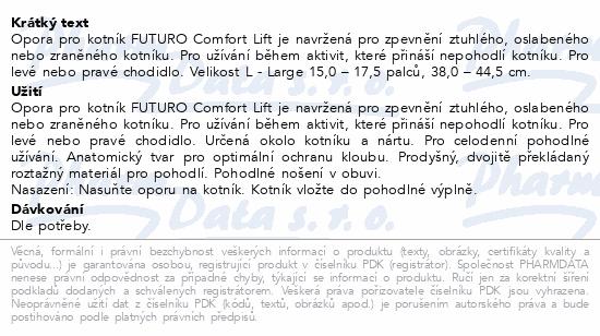3M FUTURO Bandáž hlezenního kloubu Comfort Lift L