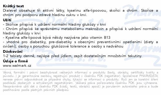 Walmark Dialevel tbl.60