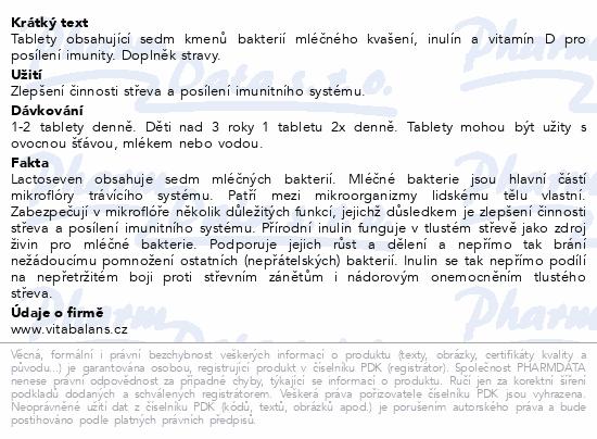 Lactoseven tbl. 50